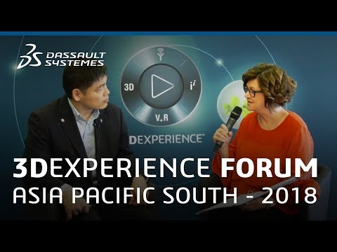 3DEXPERIENCE Forum Asia Pacific South 2018 - Interview with Masaki Sox Konno - Dassault Systèmes