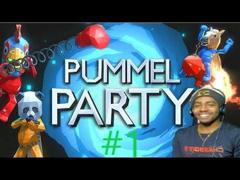WAYYY BETTER THAN MARIO PARTY!!!! [PUMMEL PARTY #1] FT I.E.GAMING
