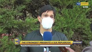 #TigoSportsNoticias???? Quiñones y Ronaldo Martínez, son los refuerzos que presentó el Club 'Atigrado'