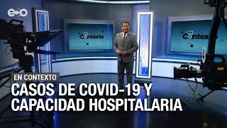 Casos de covid-19 y capacidad hospitalaria  | En Contexto
