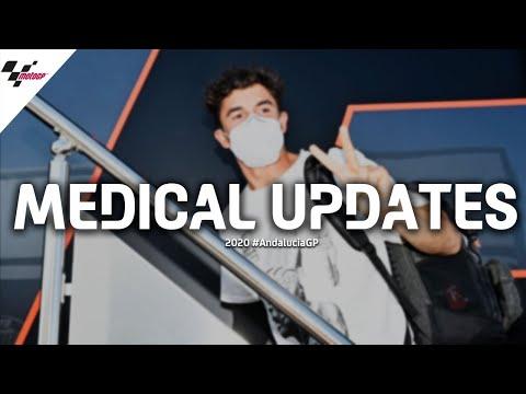 LIVE MEDICAL UPDATES: Marc Marquez, Alex Rins and Cal Crutchlow