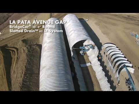 Contech Engineered Solutions - LA PATA BridgeCor Round Installation