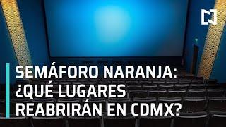 Reapertura de cines, museos, teatros y gimnasios en CDMX - Las Noticias