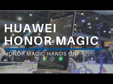 Honor Magic Hands On