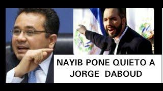 NAYIB PONE QUIETO A CHUCKY DABOU NO ABRA CANTAROS NI CDS PARA EL PUEBLO ESCORIA