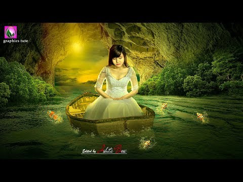 Fantasy Photo manipulation In Photoshop - Photoshop Tutorial