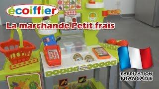 Ecoiffier La Marchande Petit Frais - D�mo en fran�ais