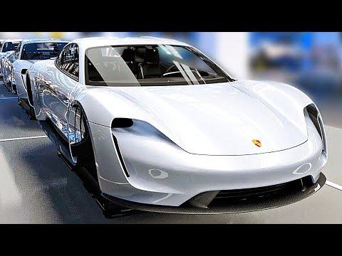 Porsche Taycan PRODUCTION LINE ? German Car Factory