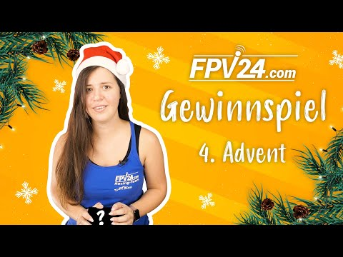(BEENDET) 4. Advent – FPV GEWINNSPIEL zu Weihnachten 🎄 | #fpv24xmas