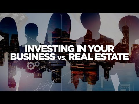 Investing in Your Business Vs Real Estate - Real Estate Investing Made Simple with Grant Cardone photo