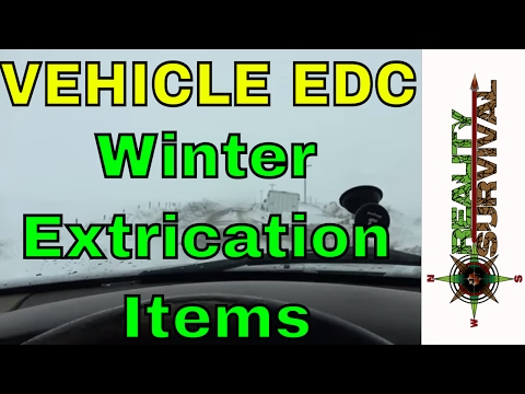 Vehicle EDC - Winter Extrication Items