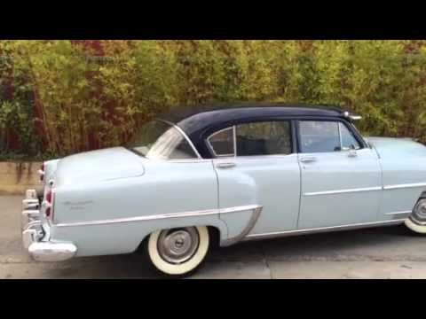 MM CLÁSICOS CHRYSLER WINDSOR DE LUXE 1954