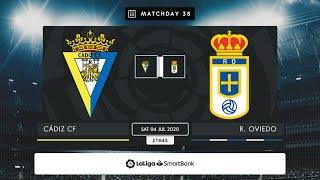Cádiz CF - Real Oviedo MD38 S2145
