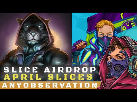 Playing Minecraft in The Uplift World | April Slice drop news