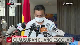 Ministro Núñez confirma la clausura del año escolar y que no habrán reprobados
