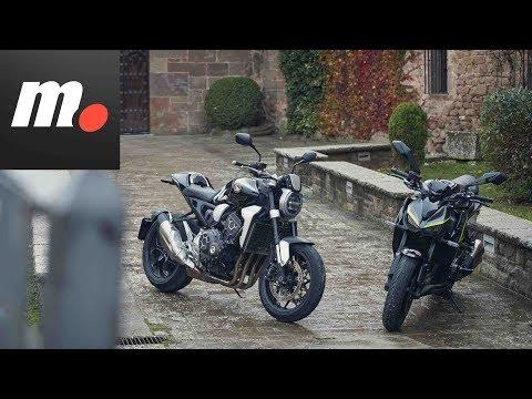 Comparativo naked deportivas | Honda CB1000R+, Kawasaki Z1000 R Edition / Prueba / Review en español