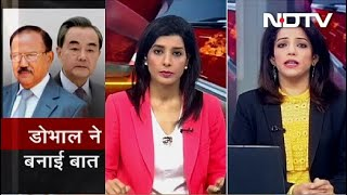क्या China  के साथ Ajit Doval से बातचीत के बाद पीछे हटी चीनी सेना? - NDTVINDIA