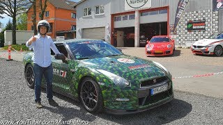 BEST TAXI EVER?! Surviving the Nürburgring in a Rental Nissan GT-R!