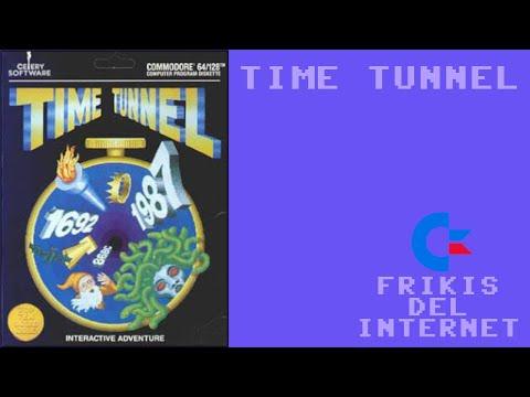 Time Tunnel (c64) - Walkthrough comentado (RTA)