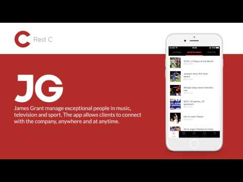 James Grant - iOS & Android app developed by Red C