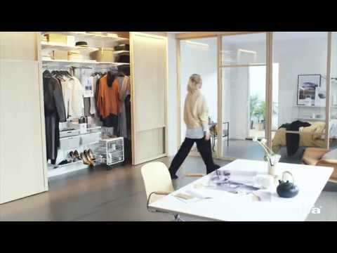 Elfa Sliding Doors: find your flow without a bottom track