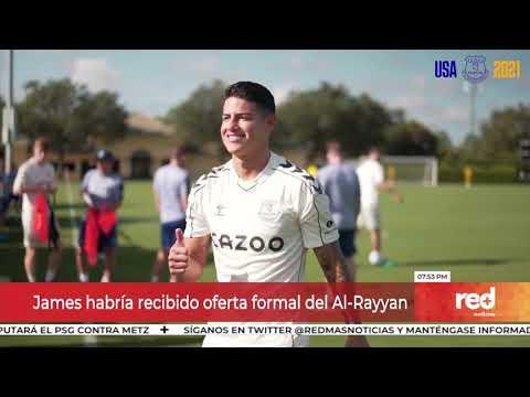 Red+   Horas claves para definir el futuro de James Rodríguez