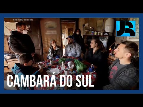Paisagens Geladas: família vive há anos sem energia elétrica perto do maior cânion da América Latina
