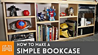 How to Make a Simple Bookcase
