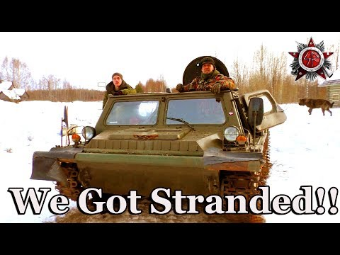 Tracked Expedition Vehicle Project 2019 First Time Driving And