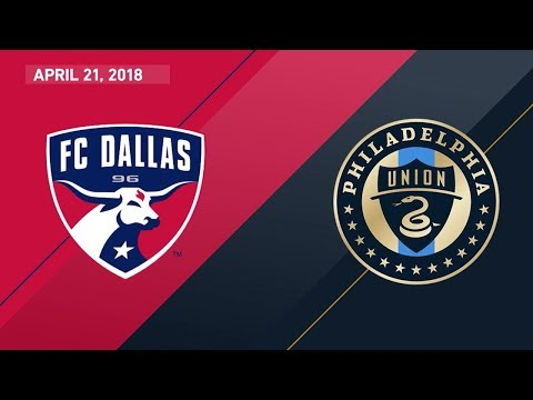 HIGHLIGHTS: FC Dallas vs. Philadelphia Union | April 21, 2018