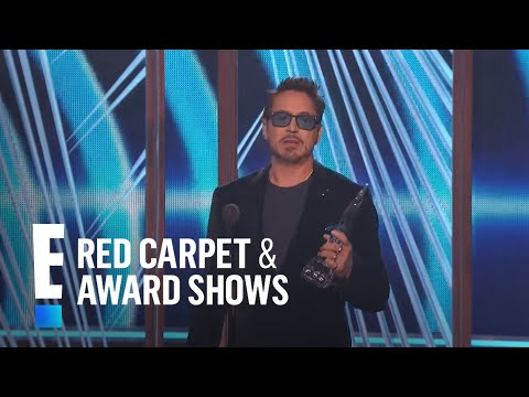 connectYoutube - Robert Downey Jr. is The People's Choice for