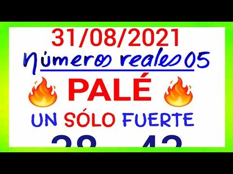 NÚMEROS PARA HOY 31/08/21 DE AGOSTO PARA TODAS LAS LOTERÍAS....!! Números reales 05 para hoy....!!