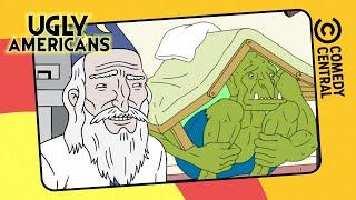 ¡Eso Es, Explora Tu Cuerpo! | Ugly Americans | Comedy Central LA