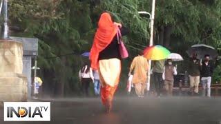 Rainfall brings respite to scorching heat in Shimla - INDIATV