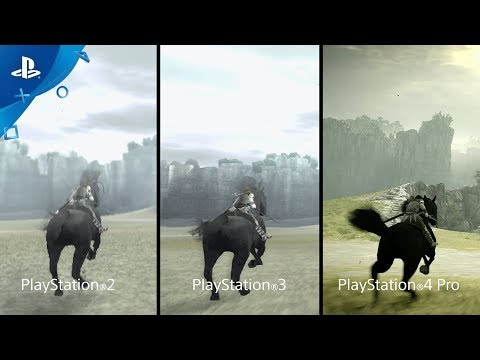 Shadow Of The Colossus PSX 2017 Comparison Trailer