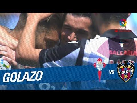 Golazo de Rochina (0-1) RC Celta vs Levante UD