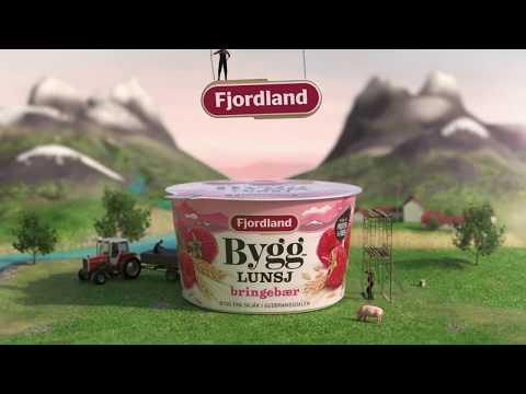 Fjordland Bygglunsj Bringebær