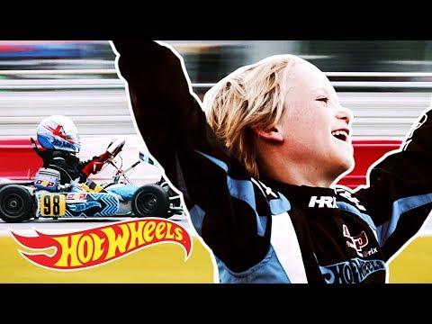 Go Fast, Sebastian! Trailer | Challengers | Hot Wheels