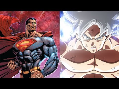 GOKU VS SUPERMAN POWER LEVELS OVER THE YEARS (ALL FORMS)