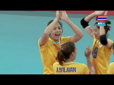 ไฮไลท์ วอลเลย์บอลหญิง ซีเกมส์(เซตที่ 2) ไทย v เวียดนาม - 7 ธ.ค. 2019