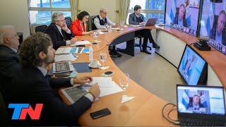 ADELANTO: EXTIENDEN LA CUARENTENA | Alberto Fernández a los gobernadores: