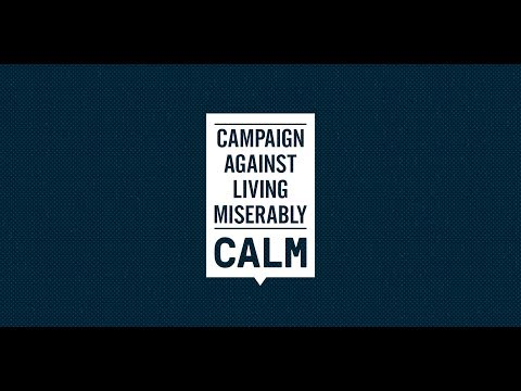 Join CALM's Movement Against Suicide