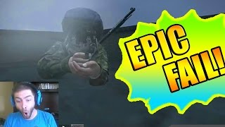 FUNNIEST FAIL EVER! (DayZ Glitch / Epic DayZ Fail)