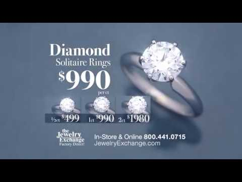 The Jewelry Exchange | Diamond Solitaire for $990