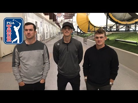Bud Cauley, Morgan Hoffmann and Nick Taylor talk about their visit to NASA