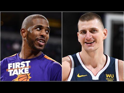 Chris Paul over Nikola Jokic for NBA MVP? Stephen A., Max and Perk debate | First Take