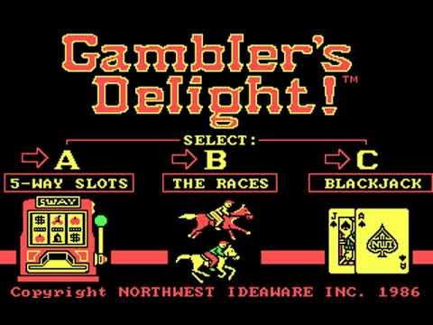Gambler's Delight! (Northwest Ideaware) (MS-DOS) [1986]