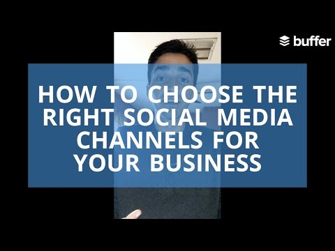 The Social Social Ep. #8 - How to Choose the Right Social Media Channels for Your Business