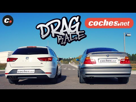 Drag Race | Gerard Farré vs Néstor Abarca | coches.net
