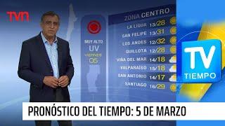 Pronóstico del tiempo: Viernes 5 de marzo | TV Tiempo